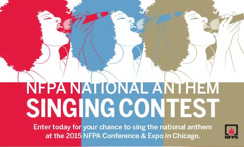 NFPA National Anthem Singing Contest