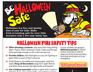 NFPA's Halloween safety tips