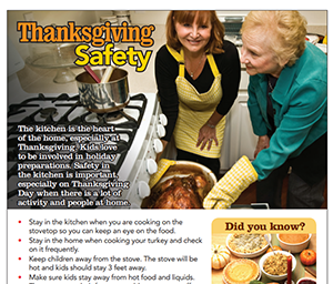 NFPA's Thanksgiving safety tips