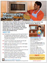 Microwave Ovens Safety Tip