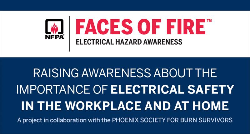 Faces of Fire Electrical banner