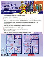 Featured item How to make a home fire escape plan
