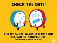Check the date of your smoke alarm