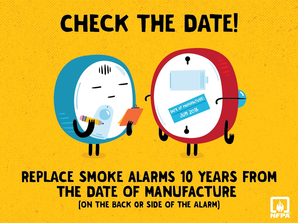 Nfpa Information About Smoke Alarms For Fire And Life Safety