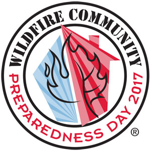 2017 Wildfire Community Preparedness Day logo