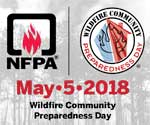 Featured item Wildfire Community Preparedness Day is May 5!