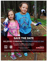 2019 Wildfire Community Preparedness Day save the date