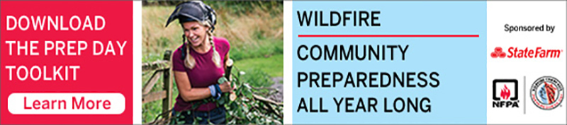 Wildfire Community Preparedness banner