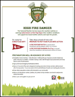 Featured item Tips for high fire danger days