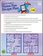 Featured item How to make a fire escape plan
