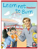 Learn Not to Burn preschool cover