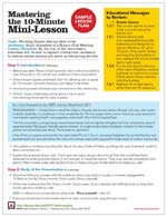 Featured item Lesson plans
