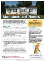 fire safety in manufactured homes - safety tip sheet