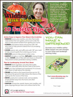 Featured item Wildfire risk reduction safety tips