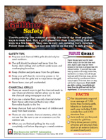 Featured item Grilling safety tip sheet