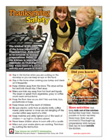 Featured item Thanksgiving fire safety