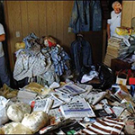 A hoarder's home