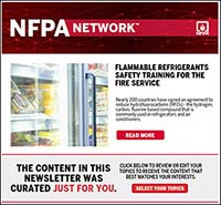 Featured item NFPA Network newsletter