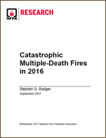 Featured item Catastrophic Multiple-Death Fires in 2016