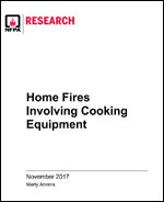 Featured item Home Fires Involving Cooking Equipment