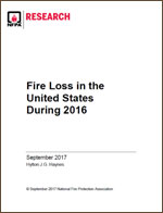 Featured item Fire Loss in the United States During 2016