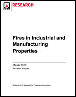 Featured item Fires in Industrial and Manufacturing Properties