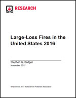 Featured item Large-Loss Fires in the United States*