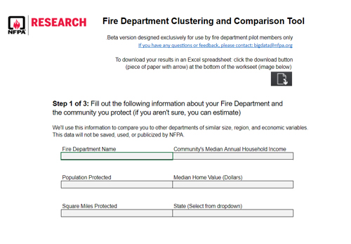 Fire department mapping tool