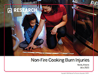 Featured item Non-Fire Cooking Burn Injuries