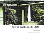 Featured item U.S. Fire Death Rates by State