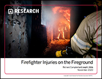 Featured item Firefighter Injuries on the Fireground