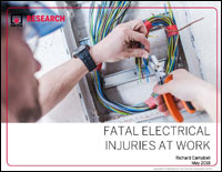 Featured item Fatal Electrical Injuries at Work