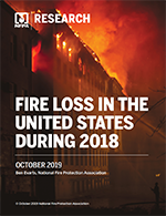 Featured item Fire Loss in the United States During 2018