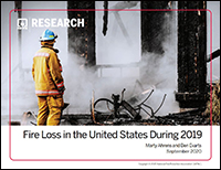 Featured item Fire Loss in the United States During 2019