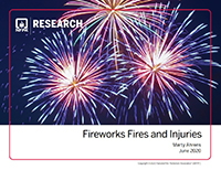 Featured item Fireworks Fires and Injuries