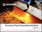 Featured item Structure Fires Started by Hot Work*