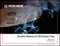 Featured item Smoke alarms in US home fires