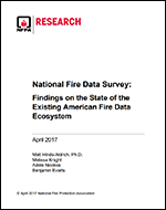 Featured item Fire Data Needs Assessment Survey Report