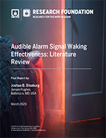 Featured item Audible Alarm Signal Waking Effectiveness: Literature Review