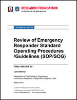 Featured item Review of Emergency Responder Standard Operating Procedures /Guidelines (SOP/SOG)