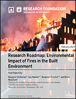 Featured item Research Roadmap: Environmental Impact of Fires in the Built Environment