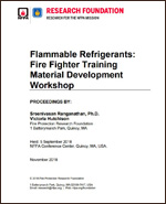 Featured item Flammable refrigerants: Fire Fighter Training Material Development Workshop