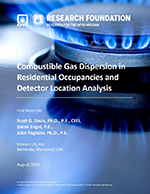 Featured item Combustible Gas Dispersion in Residential Occupancies and Detector Location Analysis
