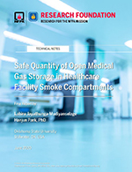 Featured item Safe Quantity of Open Medical Gas Storage in Healthcare Facility Smoke Compartments