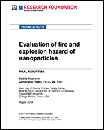Featured item Evaluation of fire and explosion hazard of nanoparticles