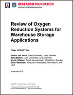 Featured item Review of Oxygen Reduction Systems for Warehouse Storage Applications