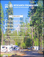 Featured item Fire Damage and Loss Assessment of Recreational Vehicles (RVs)