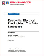 Featured item Residential Electrical Fire Problem: The Data Landscape