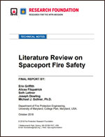Featured item Literature Review on Spaceport Fire Safety