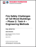 Featured item Fire Safety Challenges of Tall Wood Buildings Phase 2